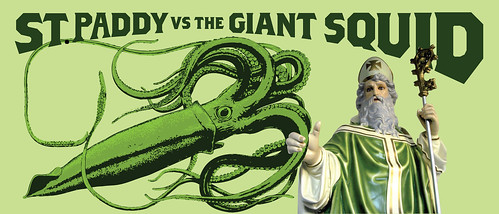 ST PADDY VS THE GIANT SQUID