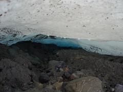 Arthabaska glacier - under the leading edge  Alberta (dsamk) Tags: blue snow ice glacier glace