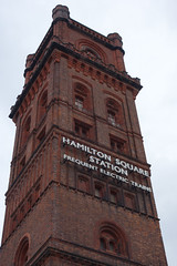 Hydraulic Tower, Birkenhead Hamilton Square Station (Neil Pulling) Tags: uk england station town birkenhead mersey wirral merseyside merseyrail hydraulictower birkenheadhamiltonsquare hydraulictowerbirkenheadhamiltonsquarestation
