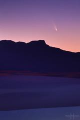 031313_CometPanStarrs (Mike Mezeul II Photography) Tags: sunset color nationalpark sand nikon space science astronomy comet sanandresmountains mezeul cometpanstarrs