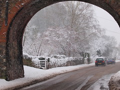 Snow-spring? Derbyshire uk today (johnb/Derbys/UK) Tags: life uk bridge trees winter england snow cold colour ice nature wet water weather reflections fun countryside weird interestingness spring nice interesting village view pov wildlife derbyshire views change myworld lovely today climate midlands chillout mystyle calke ticknall howitis derbyshireuk ©johnb rememberthatmomentlevel1 rememberthatmomentlevel2