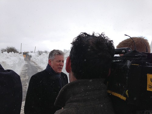 First Minister Speaks to Media on Efforts to Clear Snow