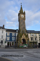 machynlleth clock tower 22 march 2013 (mikek666) Tags: clock reloj orologio saat relgio klok uhr ura erlojua rellotge