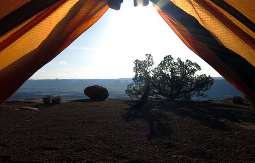 View From Tent by MartyHanson, on Flickr