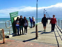 mar13 880 (raqib) Tags: blue sea sky beach mobile pier australia melbourne rc frankston iphone shadesofblue frankstonpier raqib raqibchowdhury