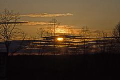 One more sunrise (mountain_doo2) Tags: morning trees sky sun clouds sunrise rise yabbadabbadoo d7000