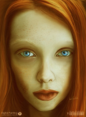 COLO / RED HAIR (PAWLUK IVAN) Tags: red santafe argentina digital hair paint digitalpainting rosario redhair dibujo wacom pintura rolo artista colorada cutr ivanpawluk ivanpawlukcom