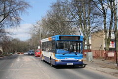 35111 on Supertram link (Moving Britain) Tags: middlewood 35111 stagecoachyorkshire yn06wcm