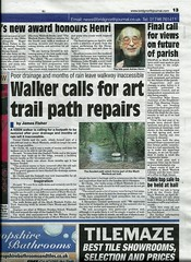 Bridgnorth Journal 29th March 2013 (Much Wenlock Neighbourhood Plan) Tags: shropshire consultation muchwenlock neighbourhoodplan mwnp pocilocal bridgnorthjournal