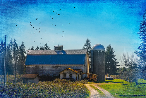Barn in Pierce County