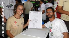 Caricatura ao vivo (chargemania) Tags: nathan militar hugo caricatura goiania goias cartunista cpmg chargemania