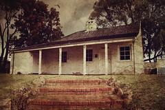 Halls Cottage (Amanda J Richards) Tags: texture cottage halls peel mandurah