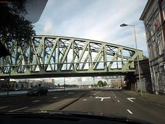 Bridge (Eddy Allart) Tags: street holland netherlands dutch calle rotterdam nederland brug spoorbrug