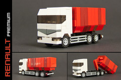 Renault Premium with roll-on/roll-off container (Robiwan_Kenobi) Tags: truck lego renault container tiny trucks premium lkw rollon cuusoo rolloff microsc