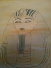 552635_10151895511821917_1101464013_n (justamy95) Tags: water colours drawing egypt outline simple tutankhamun
