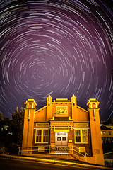 Daze Gone By... (Matthew Post) Tags: longexposure canon stars post matthew sigma australia astrophotography queensland f56 1020mm stackedimages stacked startrails gympie 60d matthewpost