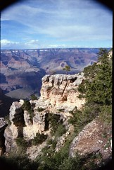 Grand Canyon steep-sided canyon carved by the Colorado River in the U.S. state of Arizona in North America 1987 064 (photographer695) Tags: grand canyon steepsided carved by colorado river us state arizona north america 1987