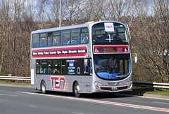 GoNorthEast TEN NK62 FHE. (Raymondo166) Tags: wearing fcc eclipse volvo near ten wright gemini livery metrocentre gonortheast b9tl nk62