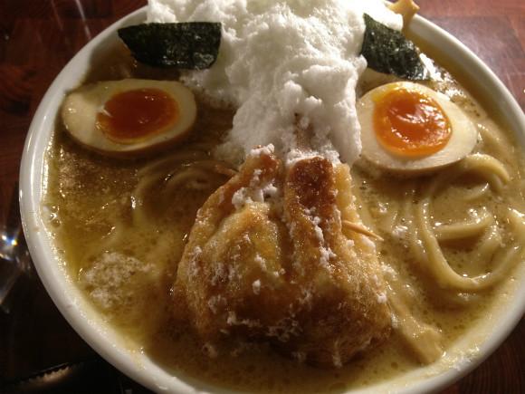 二丁目つけめんGACHI 瘋狂假麵 (変態仮麺)
