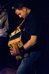 Faustus (2013) 08 - Saul Rose (KM's Live Music shots) Tags: greatbritain accordion folkmusic faustus melodeon englishfolk greennote saulrose folkonmonday