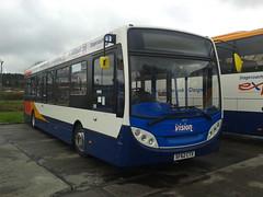Stagecoach Western ~ SF62 CTX ~ 36727 (Fife Scottish N316VMS) Tags: flickrandroidapp:filter=none stagecoach western ~ sf62 ctx 36727 sf62ctx the vision enviro 200 cumnock bus depot
