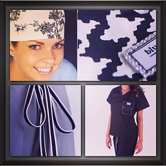 blue sky scrubs (Andrea D Mueller) Tags: uniforms doctors nurses scrubs throwbackthursday blueskyscrubs