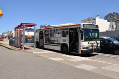 Muni 8349 (Howard_Pulling) Tags: sanfrancisco camera usa america us nikon tram april trams strassenbahn 2013 hpulling d5100
