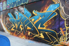 MadC (covered filth) Tags: street art painting graffiti bay mural san francisco area madc