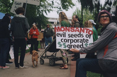 March Against MONSANTO 1, Portland 2016 (Sara J. Lynch) Tags: sara j lynch march against monsanto portland oregon protest demonstration gmo gmos chemicals signs sign