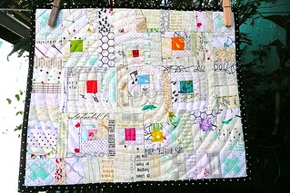 nearly nude Mini Quilt Swap