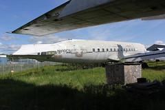 N810CS DC-6 and ex US Navy C-118B 131604 (Retro Jets) Tags: usn c118 dc6 everts