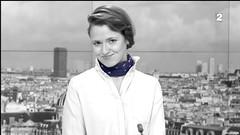 Adorable Julie n308 B&W (Blouse et Foulard 2) Tags: blouse foulard julie bandana scarf