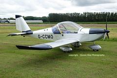G-CCMO Aerotechnik EV-97 Eurostar (SPRedSteve) Tags: gccmo ev97 eurostar shobdon aerotechnik