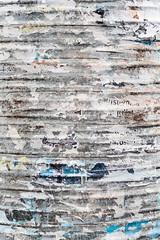 Curved Surface (pni) Tags: remnants typography text torn metal multiexposure multipleexposure tripleexposure helsinki helsingfors finland suomi pekkanikrus skrubu pni