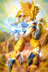Goku SSJ3 Kamehameha (kevchan1103) Tags: dragon z shf sh s h figuarts shfiguarts son goku vegeta super saiyan bandai tamashii nations toys action figure ball dragonball dbz