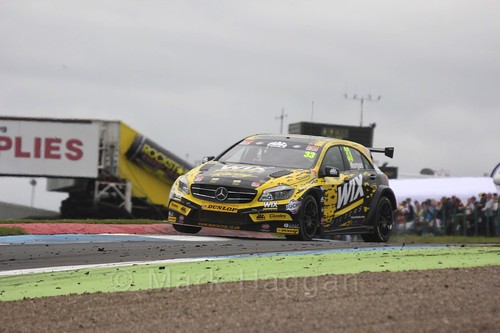 Adam Morgan in BTCC race two at Knockhill Weekend 2016