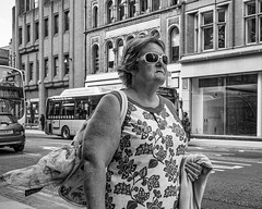 Manchester 025 (Explore - 12 September, 2016 -#322) (Peter.Bartlett) Tags: manchester noiretblanc olympusomdem5 unitedkingdom people city urbanarte peterbartlett urban woman monochrome uk m43 microfourthirds walking bw lunaphoto macphuntonality blackandwhite streetphotography candid england gb explore