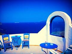 Caldera view (elirus1) Tags: greece cyclades relax caldera calderaview santorini fira oia perissa pyrgos visitgreece blue sea sun egeo