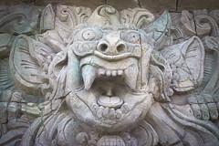 The Temple (t3b_2007) Tags: temple face god bali stone sculpture art