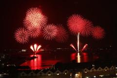fireworks (M. Mikamo) Tags: summer firework kagoshima bay night festival 15000