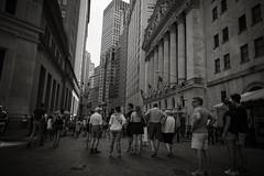 nyc-10 (M B Ahmed) Tags: nyc newyorkcity newyork manhattan people downtown wallstreet blackandwhite bnw instagramapp new 2016 photo streets streetphotography