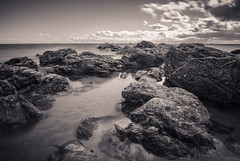 Fife LE (6 of 10) (Muse2k8) Tags: fife scotland long exposure coast coastal sea beach black white zig zag st monans