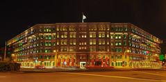 Colors of History (elenaleong) Tags: oldhillstreetpolicestation ohsps colourfulwindows nationalmonument landmark historicbuilding singapore elenaleong neoclassicalbuilding