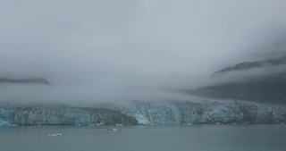 Alaska. Glacier Bay. It is recommended to watch this photo on hot summer days.