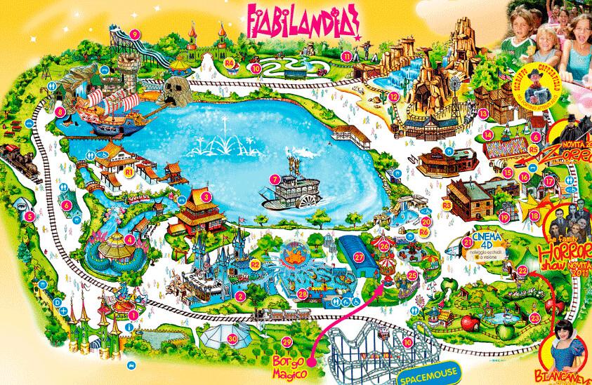 Mappa Fiabilandia