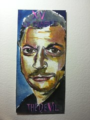 Tarot cards (HumanArtistVendingMachine) Tags: jeffgoldblum tarot