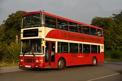 lady in red (D Stazicker Photography) Tags: t663vwu volvo olympian royale alexander first bus huddersfield 125 years connexions buses
