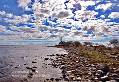 Hgby Fyr, land (mansachs) Tags: lighthouse fyr hgby land baltic sea landscape seascape nature ships