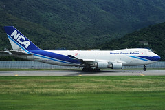 Boeing 747-4KZF, Nippon Cargo Airlines, JA05KZ (carlcowkau Photography) Tags: carltang carlcowkauphotography nipponcargoairlines boeing boeing747 747400 747400f 7474kzf hongkonginternationalairport vhhh hkg departure 07r ja05kz kz