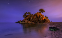 Warm Night (Toni_pb) Tags: tonipou travel trip clouds catalonia cielo colors catalua costa cala contrast contraste cityscape coast caproig landscape longexposure led lucroit lucroit165holder nikon d810 nikkor142428 night nightscape minimalist mistico luminosity luzcalida mystic waterscape water